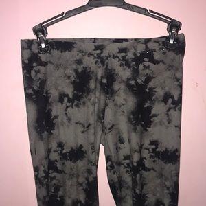 Marble/ tie dye leggings